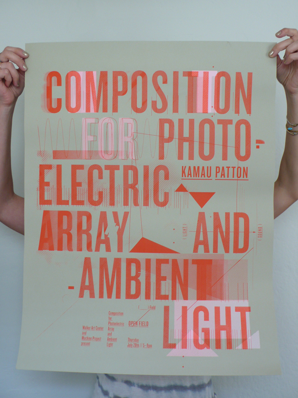 Composition for Photoelectric Array and Ambient Light